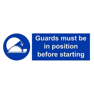 Guards Must Be In Position Before Starting - Landscape