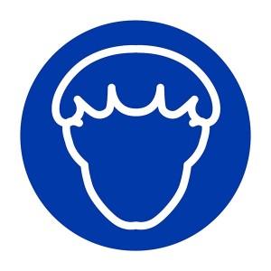 Hairnet Symbol - Square