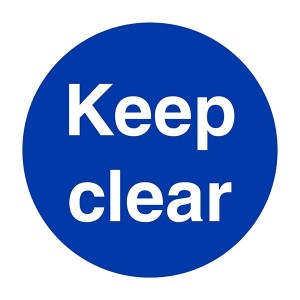 Keep Clear - Square