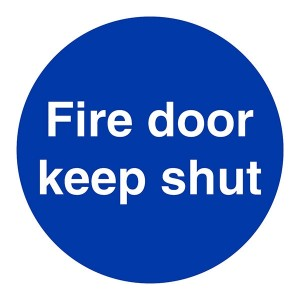 Fire Door Keep Shut - Square