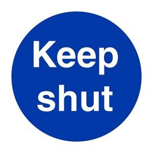 Keep Shut - Square