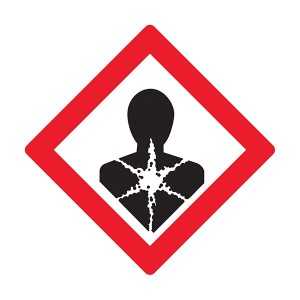Longer Term Health Hazards Symbol - Diamond - Square