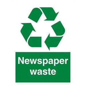 Newspaper Waste - Portrait