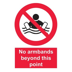 No Armbands Beyond This Point - Portrait