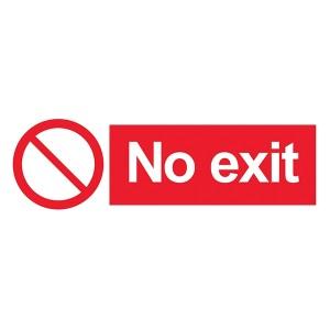 No Exit - Landscape