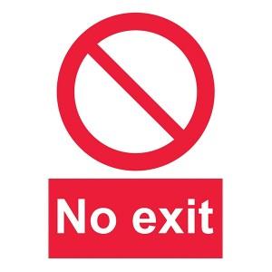 No Exit - Portrait