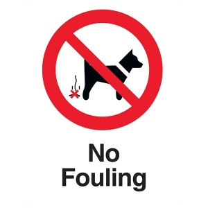 No Fouling - Portrait
