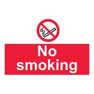 No Smoking - Landscape - Large