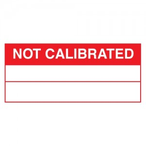 Not Calibrated Stickers - Landscape