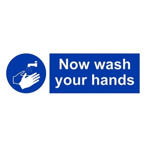 Now Wash Your Hands - Landscape