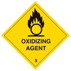 Oxidizing Agent - Yellow - Diamond - Square