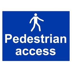 Pedestrian Access - Landscape - Large