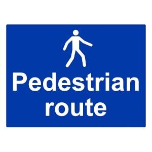 Pedestrian Route - Landscape - Large