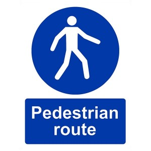 Pedestrian Route - Portrait