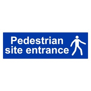 Pedestrian Site Entrance - Landscape