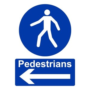 Pedestrians - Arrow Left