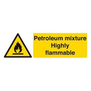 Petroleum Mixture Highly Flammable - Landscape