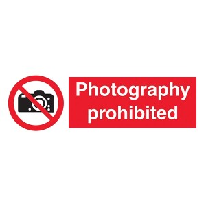 Photography Prohibited - Landscape