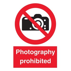 Photography Prohibited - Portrait