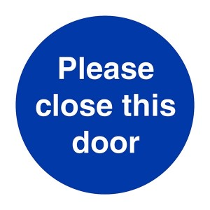 Please Close This Door - Square
