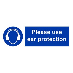 Please Use Ear Protection - Landscape