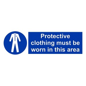 Protective Clothing Must Be Worn In This Area - Landscape