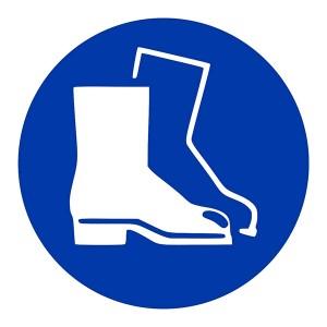 Protective Footwear Symbol - Square