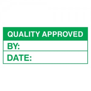 Quality Approved Stickers - Landscape