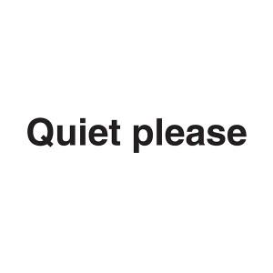Quiet Please - Landscape