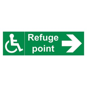 Refuge Point Arrow Right - Landscape