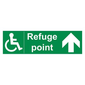 Refuge Point Arrow Up - Landscape