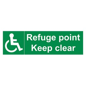 Refuge Point Keep Clear - Landscape