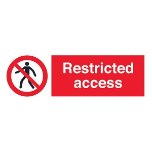 Restricted Access - Landscape