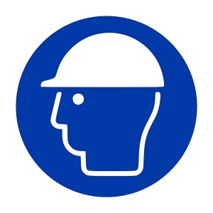 Safety Helmet Symbol - Square