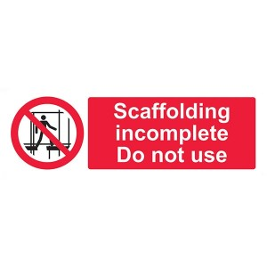 Scaffolding Incomplete Do Not Use - Landscape