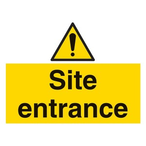 Site Entrance - Landscape - Large
