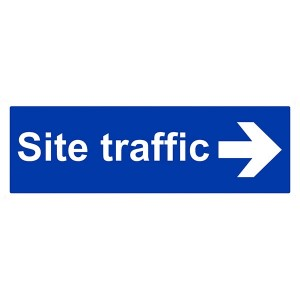 Site Traffic Arrow Right - Landscape