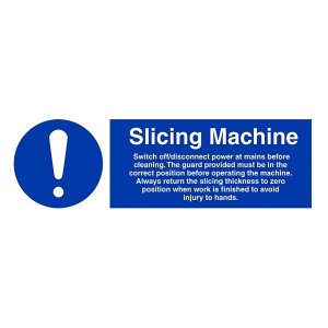 Slicing Machine Instructions - Landscape