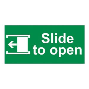 Slide To Open Left - Landscape