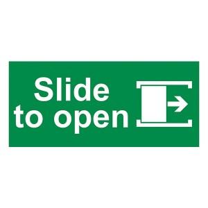 Slide To Open Right - Landscape