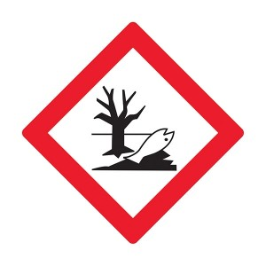 Hazardous To The Environment Symbol - Diamond - Square