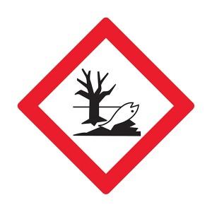 Hazardous To The Environment Symbol - Diamond - Square