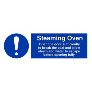Steaming Oven Instructions - Landscape