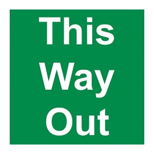 This Way Out - Square