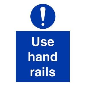 Use Hand Rails - Portrait