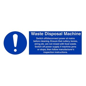 Waste Disposal Machine Instructions - Landscape