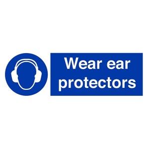 Wear Ear Protectors - Landscape