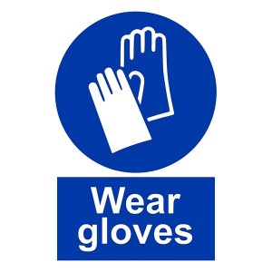 Wear Gloves - Portrait