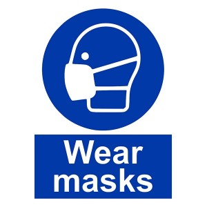 Wear Masks - Portrait