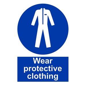 Wear Protective Clothing - Portrait
